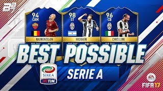 BEST POSSIBLE SERIE A TEAM! w/ TOTS NAINGGOLAN AND TOTS HIGUAIN!