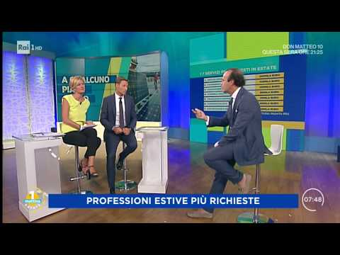 Valentina Bisti e Massimiliano Ossini e la classifica dei lavori che guadagnano di più d'estate