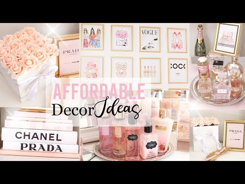 DIY Dollar Store Designer Room Decor Ideas