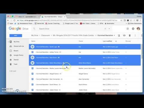 Using PDF Mergy With Google Drive/ Google Classroom