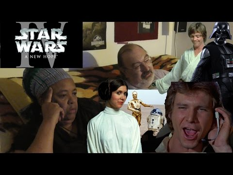 My Parents React to STAR WARS: A NEW HOPE FOR THE FIRST TIME!