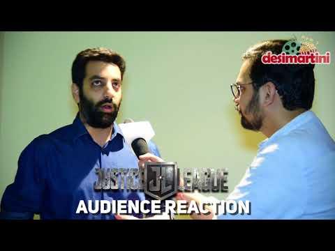 Desimartini  Justice League Exclusive Premiere: Audience Reaction