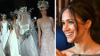 Meghan Markle's Wedding Dress: Famous Designers Weigh in on What They Think She Will Wear
