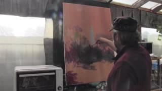 Новые уроки Игоря Сахарова! Импрессионизм  Девушка в контражуре у реки