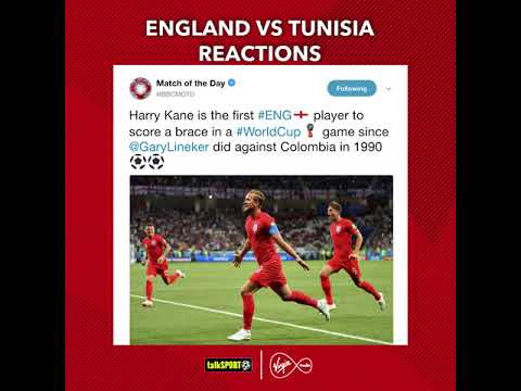 Twitter reacted perfectly to #ENG's #WorldCup win over #TUN 😂