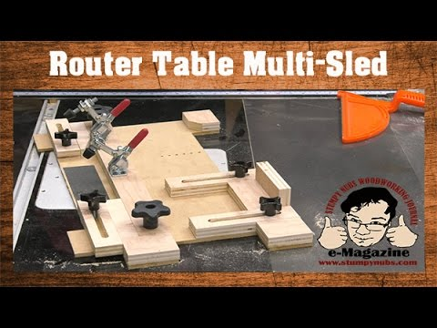 Router table building plan worldnews build a router table multi sled coping small parts holder tenons greentooth Gallery