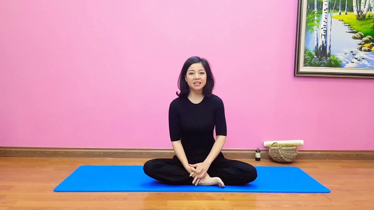 Yoga tại nhà: 7 ngày đánh tan mỡ bụng cùng Nguyễn Hiếu Yoga