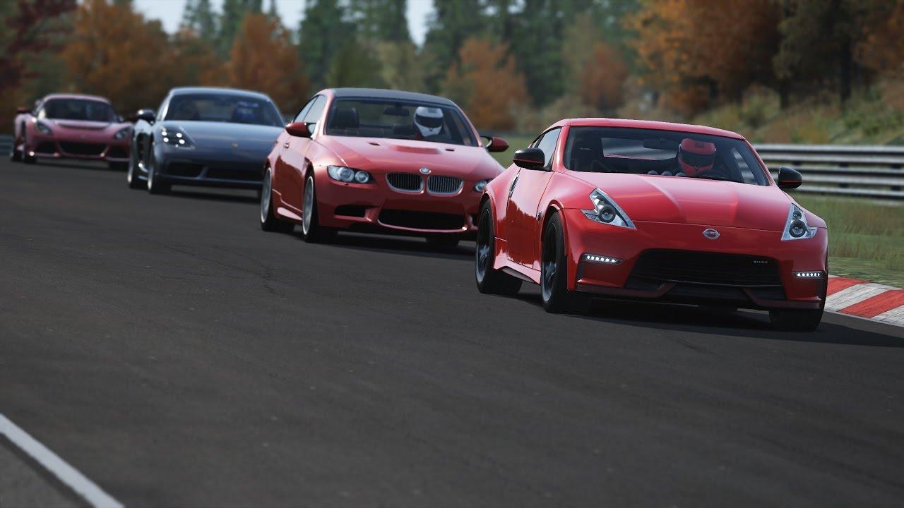 370z Nismo 0 60 >> Porsche 718 Cayman S vs Lotus Exige S vs Nissan 370Z Nismo vs BMW M3 E92 • Nordschleife - YouTube