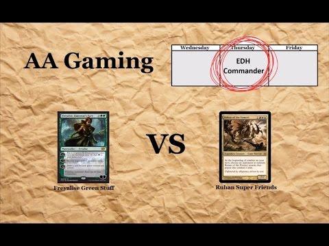 S2 Ep9 Thursday EDH/Commander - Freyalise, Llanowar's Fury vs Ruhan of the Fomari
