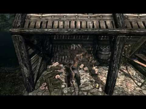 Skyrim Mod: Build Your Own House #1 - It looks so pretty!