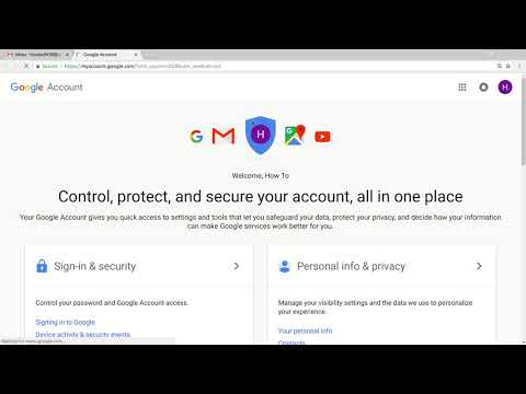 How to change gmail password on computer
