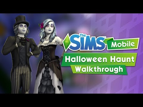 The Sims Mobile: Halloween Haunt (Event + Trick or Treat Quest Walkthrough)