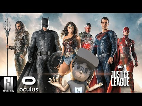 PLAYING 6 SUPER HEROES //  DC JUSTICE LEAGUE VR GAMEPLAY // Oculus + Touch // GTX 1060 (6GB)