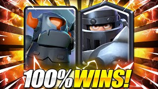 IMPOSSIBLE TO DEFEND THIS!! Mega Knight + Mini Pekka is INSANE in Clash Royale!! 😱