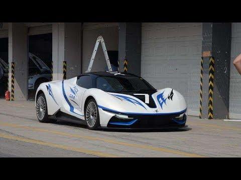 北汽全新電動超跑,比法拉利更漂亮,2.9秒的百公裏加速