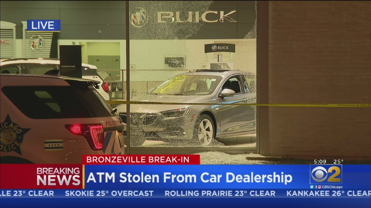 ATM Stolen From Bronzeville Car Dealership