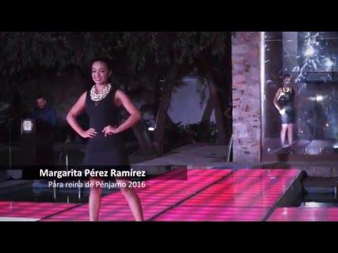 Presentación de candidatas a reina de Pénjamo 2016