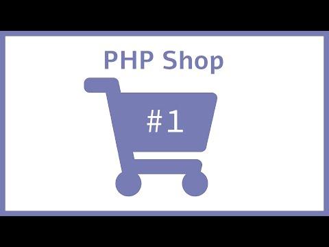 PHP Online Shop Programmieren Für Anfänger - Erstes Layout | Part1
