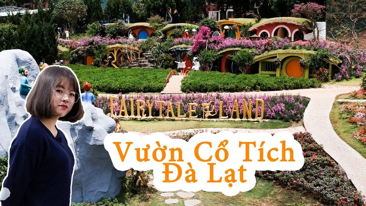 Review Đà Lạt – Fairytale Land – Địa điểm check in mới ở Đà Lạt