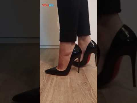 上品な光沢が魅力ルブタンレディース靴パンプスChristian Louboutin快適ハイヒールシューズ高清