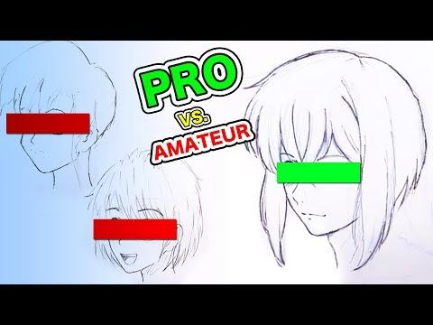 PRO Jepang Vs AMATEUR