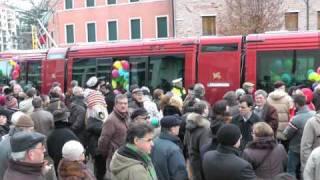 Tram di Mestre: 10.000 passeggeri nel giorno dell