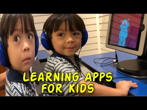 IPad Learning Apps  | Toddler Solving Puzzle | Online Learning Games For Kids | Toy For Kids