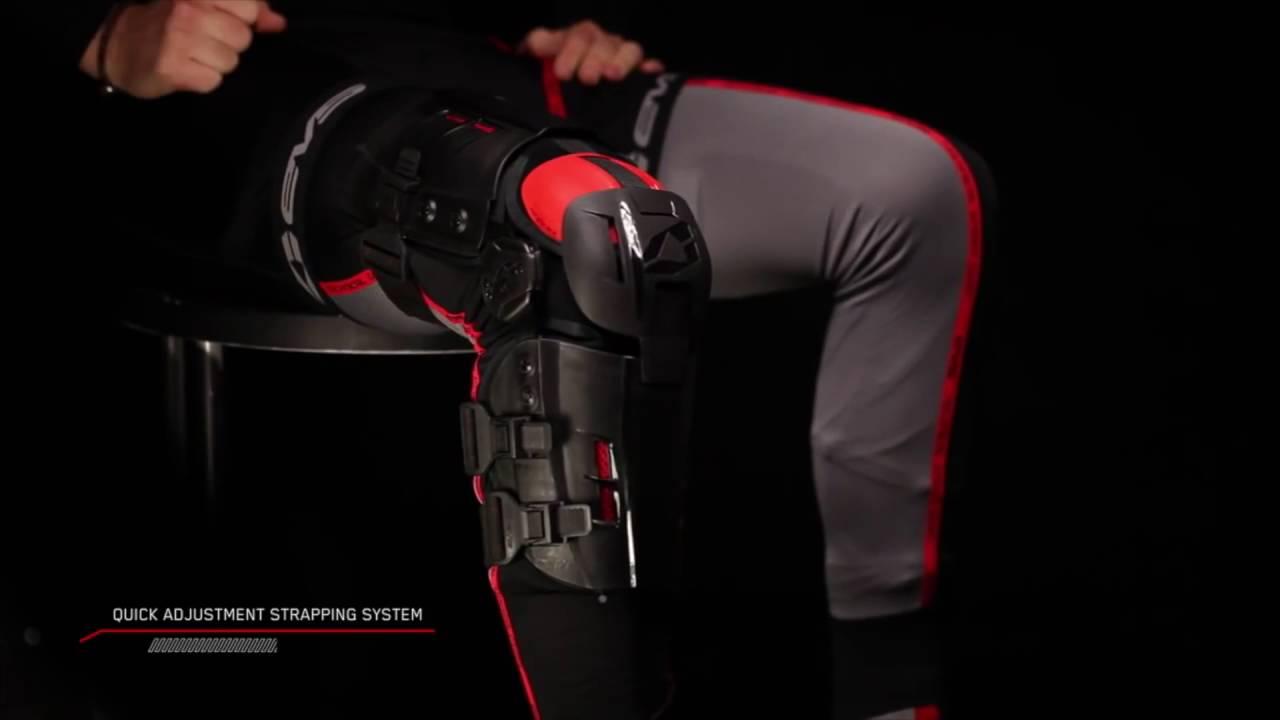 b8987fe564 EVS Sports RS9 Knee Brace - YouTube