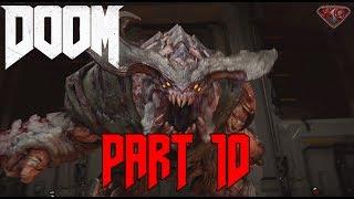 "DOOM Gameplay Walkthrough Part 10 ""Lazarus Part 2"" 1080p 60fps|Let"