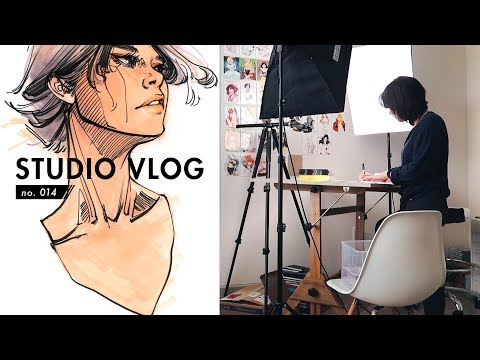 Follow Me Around | Studio Vlog no. 014