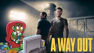 A Way Out Official Gameplay Trailer Reaction - E3 2017 Reaction