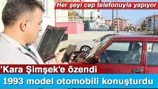 'Kara Şimşek'e Özendi, 1993 Model Otomobil