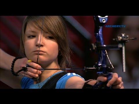 Kristina Timofeeva v Anastasia Pavlova  recurve junior womens gold final |Las Vegas 2012