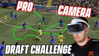 I WON A FUT DRAFT USING THE *PRO* CAMERA ON FIFA 21!!