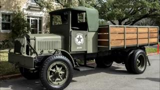 1918 liberty truck and txdot centennial celebration