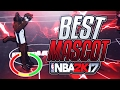 THIS MASCOT IS THE BEST FOR SHOOTING  GREEN LIGHTS ALL DAY NBA 2K17 MY PARK