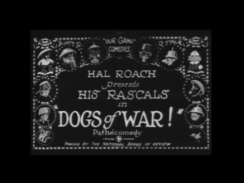 Little Rascals Our Gang Dogs Of War! 1923 HD 720p and Ad Free
