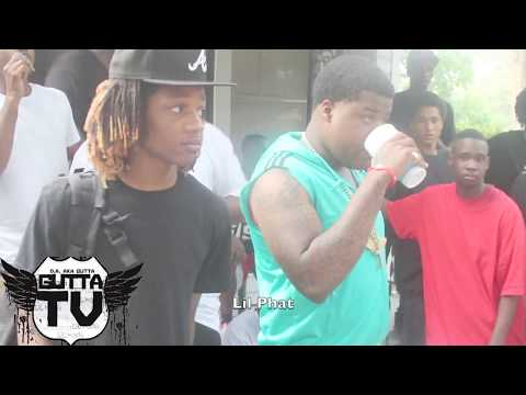 Flashback: Lil Phat Posted In The Hood With 100k Worth Of Jewelry On In South Carolina