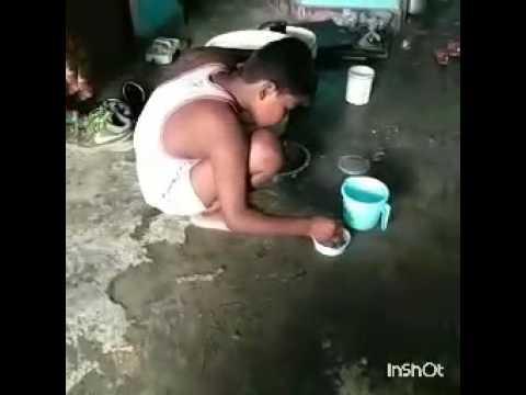 jhadu pocha karb nahi dowb bartnwa