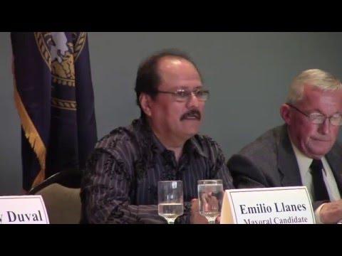2016 Hastings Mayoral Debate
