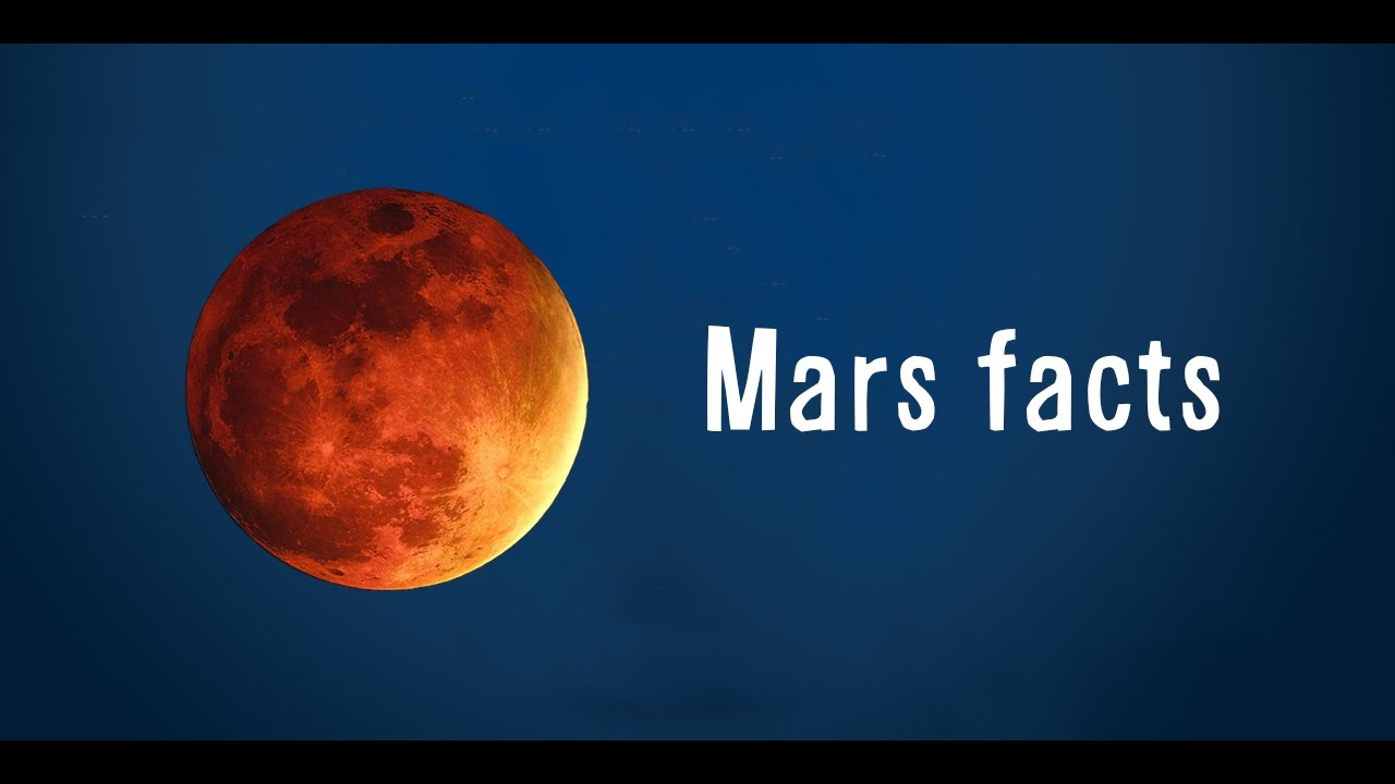 12 Mars Facts You Didn't Know - Earth vs Mars - YouTube