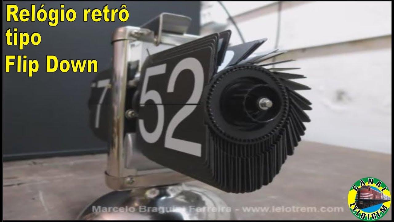 feef5736b0b 167 - RELÓGIO RETRÔ TIPO