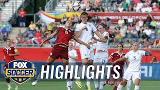 England vs. Mexico - FIFA Women's World Cup 2015 Highlights | FOX SOCCER