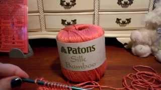Patons Silk Bamboo Yarn Review