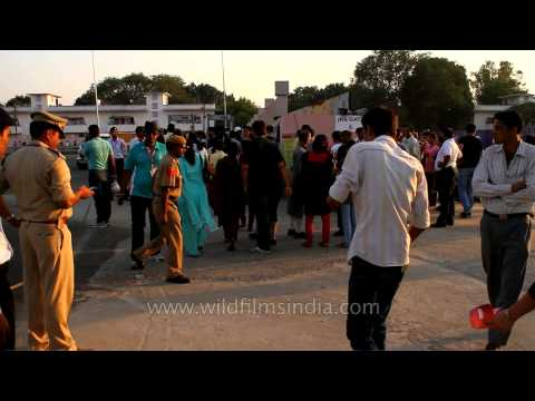 Security beefed up across Delhi ahead of the 2010 XIX Commonwealth Games