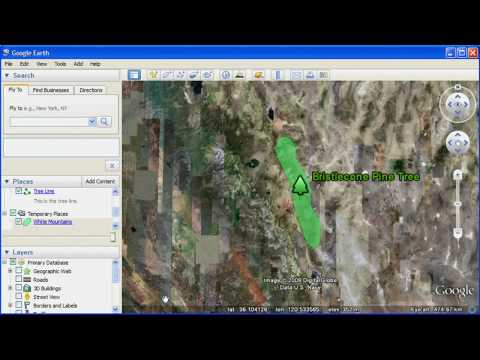 Annotate Google Earth