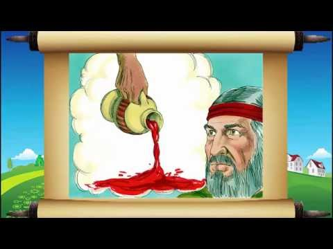 Kids Bible Story - Moses and the Burning Bush - The Beginners Bible For All - YouTube