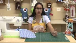 Porta guardanapo – 3 modelos com Estela Junqueira