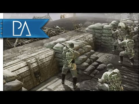 CHARGING OVER TRENCHES - Company Of Heroes: The Great War Mod Gameplay