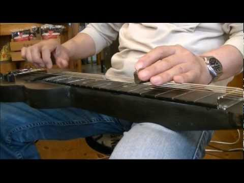 Killing the Blues (Homemade Lapsteel Guitar)